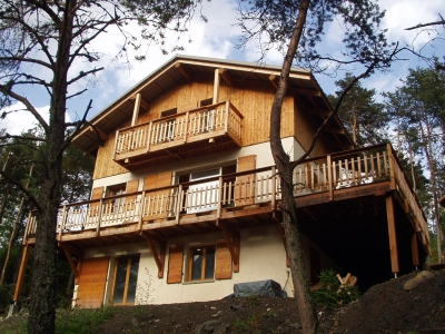 chalet location de vacances alpes de haute provence